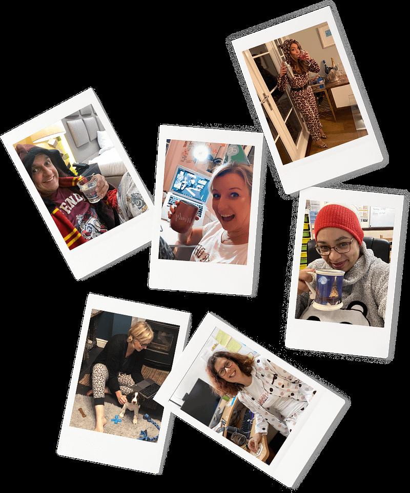 2021 Courageous Content Live Delegate Polaroids